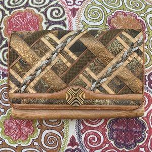 Vintage 1980s Sharif Leather Purse